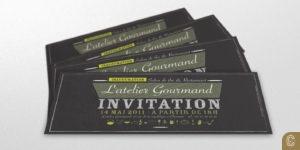 flyer invitation inauguration