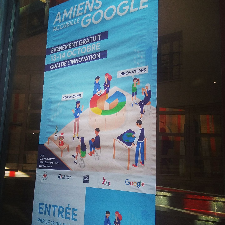 Amiens accueille Google