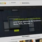 site vitrine - labelbaie